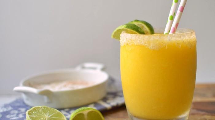 Chili-Lime Mango Margarita via LittleFerraroKitchen.com